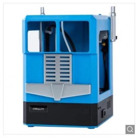 Creality3D CR - 100 3D Printer 100 x 100 x 80mm Children Use Complete Machine - Dodger Blue US Plug (3-pin)