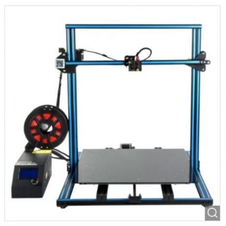 Creality3D cr - 10s5 500 x 500 x 500mm 3D Printer DIY Kit - Blue and Black EU
