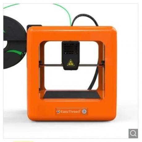 Easythreed NANO Mini Home Education Children's 3D Printer ORG - Orange UK Plug