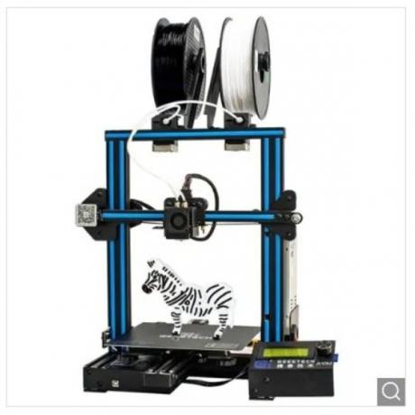 Geeetech A10M Mix-color 3D Printer - Blue Eyes EU Plug