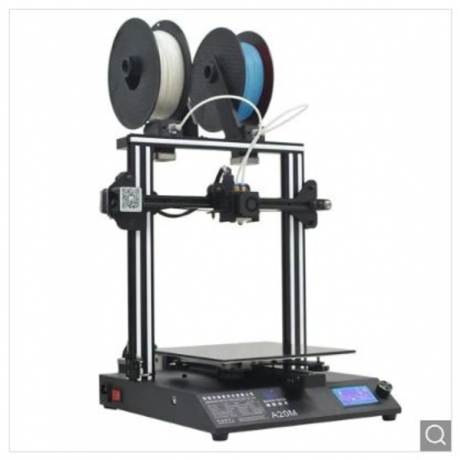 GEEETECH A20M Mix-color 3D Printer - White EU Plug