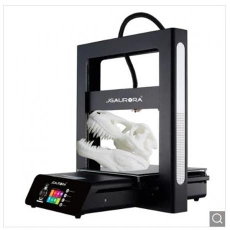 JGAURORA A5S Updated 3D Printer with Large Printing Area - Night EU Plug
