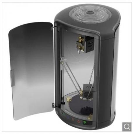 MOIRA DF3 Intelligent FDM 3D Printer 150 x 150 x 175mm Auto Leveling Offline Printing WiFi Connection Internal Filament Tray - Black EU Plug