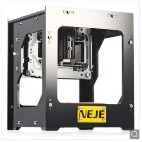 NEJE DK - 8 - FKZ 1500mW Laser Engraver CNC Printer - Black