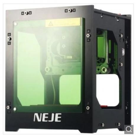 NEJE DK - 8 - KZ 1000mW Laser Engraver Printer - Black 1000mW