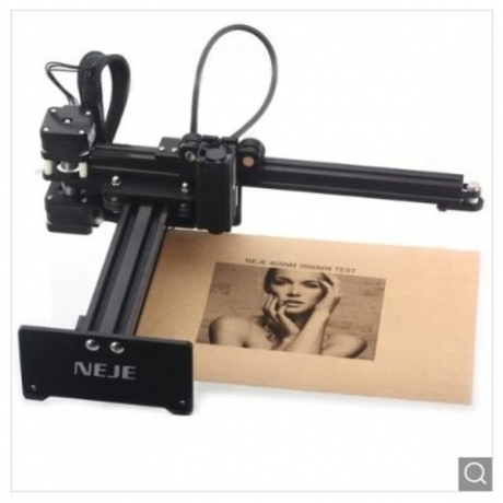 NEJE MASTER 3500mW Personal Laser Engraving Machine - Black US Plug (2-pin)