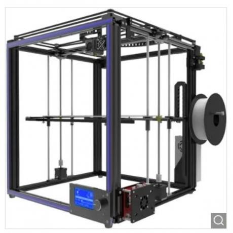 Tronxy X5S High-precision Metal Frame 3D Printer Kit - Black EU Plug