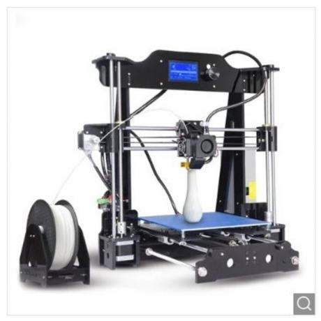 Tronxy X8 220 x 220 x 200mm Desktop DIY 3D Printer - Black EU Plug
