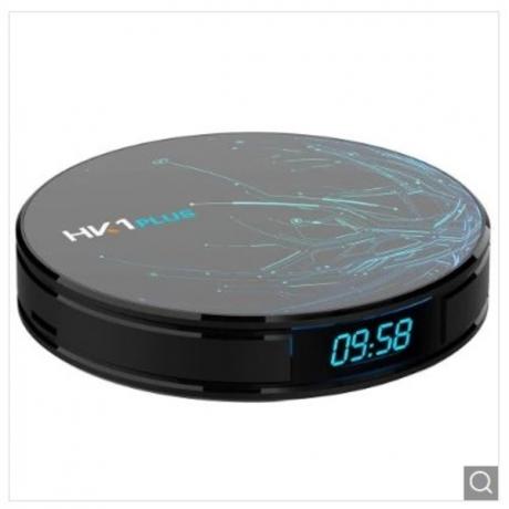 HK1 Plus Multifunctional Wifi TV Box - Black 2GB RAM + 16GB ROM UK Plug