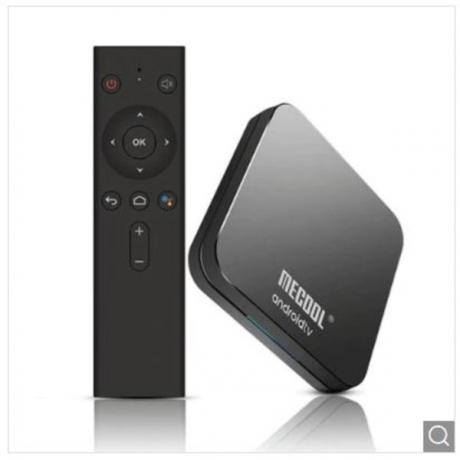 MECOOL KM9 Pro Voice Control TV Box Google Certificated - Black UK Plug