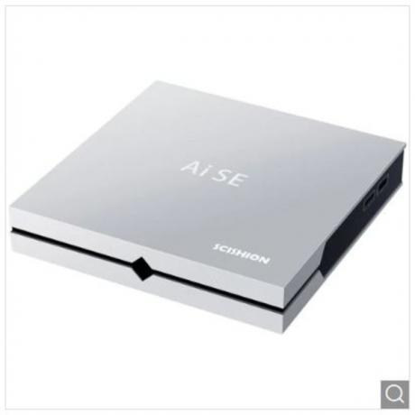 Scishion Ai SE Game Box Smart Multimedia Player - Silver EU Plug