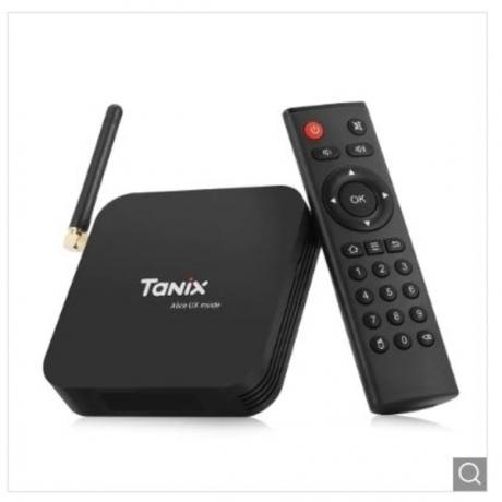 Tanix TX6 TV Box 2.4GHz + 5.8GHz WiFi BT5.0 - Black 4GB RAM + 32GB ROM EU Plug