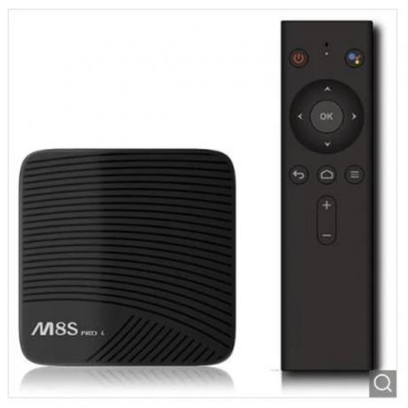 M8S PRO L Smart TV Box for Android 7.1 Amlogic S912 3GB RAM 32GB ROM 5G Wifi - Black