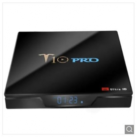 T10 Pro TV Box - Black 4GB RAM+32GB ROM UK Plug