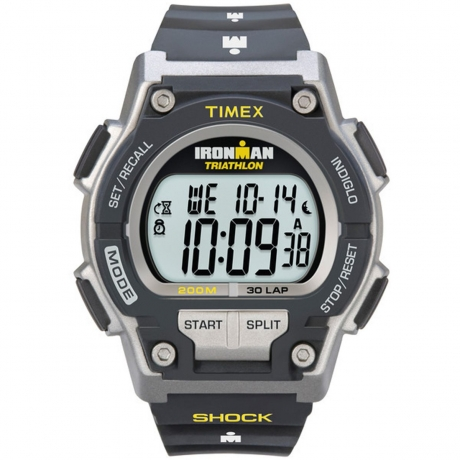 Mens Timex Indiglo Ironman Alarm Chronograph Watch T5K195