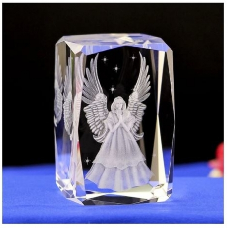 80mm Modern White Crystal Statue Crafts Crystal-feng Fengshui Jewelry Decoration Home Wedding Party Decorative Gift Souvenirs