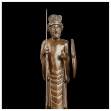 Arts Crafts Copper Classical Statue Ancient Bronze sculptures figurine lost wax casting art collectible souvenirs
