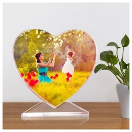 Personalized Gift Crystal DIY Photo Frame Glass Custom Picture Album Valentine's Day Gift Party Favors Souvenirs Wedding Gift