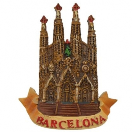Spain Barcelona Sagrada Fridge Magnets Famous Scenic Refrigerator Magnet Stickers Gift Modern Home Kitchen Decoration Wholesale