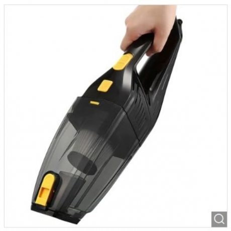 Automatic Cleaning Wet Dry Vacuum Cleaner - Black