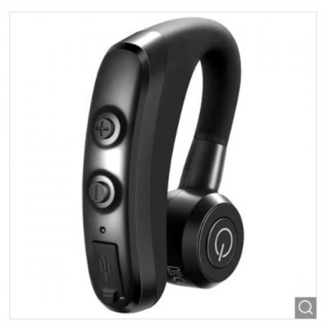 CIRCE K5 Single Business Bluetooth Headset Wireless Stereo Headphone - Black