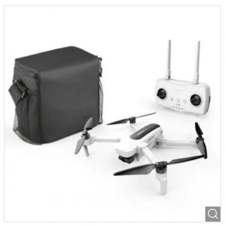 Hubsan H117S GPS 5.8G 1KM FPV with 4K UHD Camera 3-Axis Gimbal RC Drone - RTF - White US Plug, 2 Batteries + 1 Storage Bag