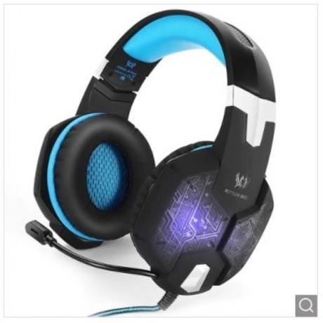 KOTION EACH G1000 Stereo Gaming Headset LED Headphone - Blue