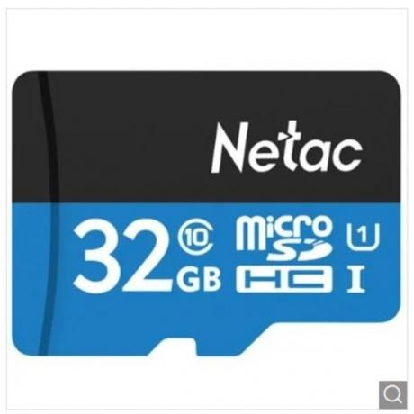 Netac High Speed Memory Card Mobile Phone TF Card - Day Sky Blue 32GB