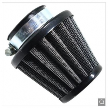 38MM Steel Air Filter Cleaner - Black