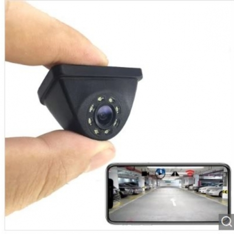 HD Wireless Wifi Reversing Blind Zone Camera with Intelligent Video Night Vision Mobile Phone Display Car Rear View Image Monitoring - Black For Left and Right Dead Zone