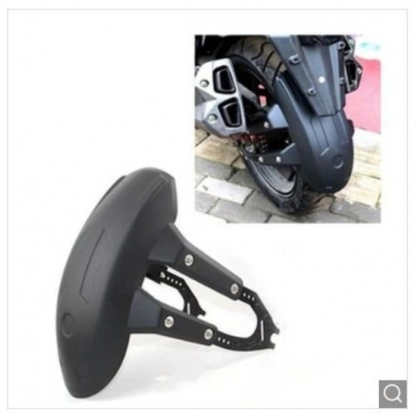 Motorcycle Rear Fender Flashing Modified Rear Wheel Back Shield Mud Riding Equipment Accessories - Multicolor