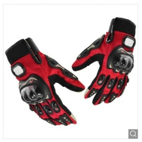 PRO - BIKER MCS - 01 Breathable Outdoor Ridding Motorcycle Gloves Climbing Training Mittens 1 Pair - Red 2XL