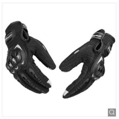 Riding Tribe MCS - 17 Ridding Motorcycle Gloves Mittens 1 Pair - Black M