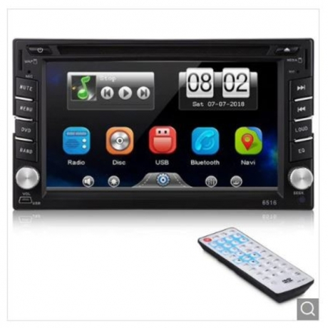 6.2 inch Car Player Bluetooth Touch Screen - Black