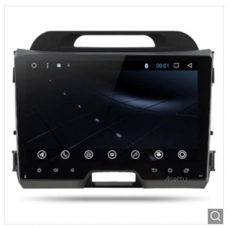 Android 8.1 Octa 8 Core Car DVD Player - Black
