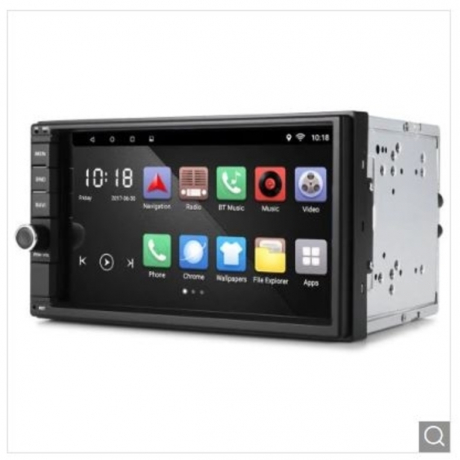 RM - CT0012 Android 8.0 Bluetooth GPS Stereo Car Player - Black