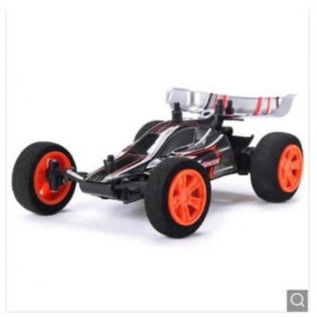 1/32 2.4G Racing Multilayer in Parallel Operate USB Charging RC Car - Black