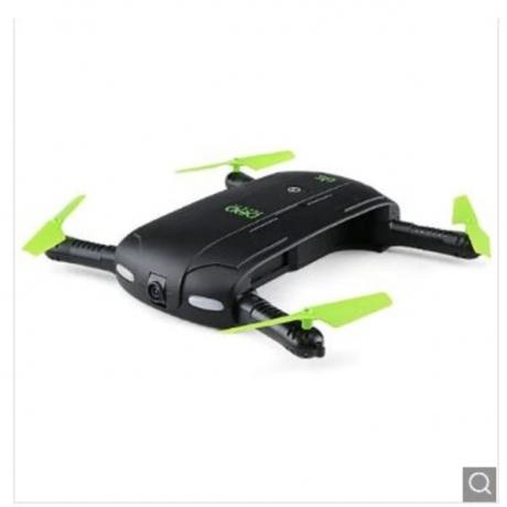 DHD D5 Mini Foldable RC Pocket Quadcopter - BNF - Black