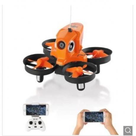 H801 720P 2.4GHz 4CH 6 Axis Gyro WiFi FPV Remote Control Quadcopter WiFi FPV - Orange Standard Version