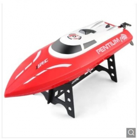 JJRC S1 Waterproof Turnover Reset Water Cooling RC Boat - Red with One Battery