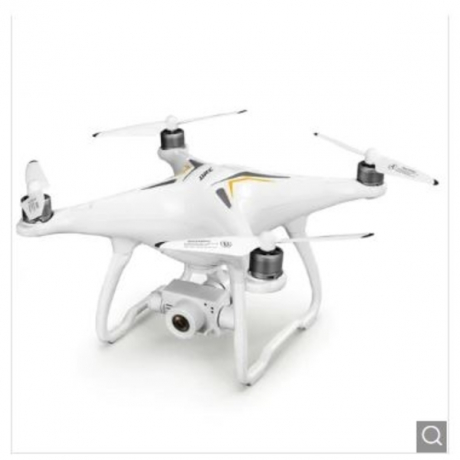 JJRC X6 Aircus GPS RC Drone with Two-axis Stabilization PTZ Gimbal - White 1 Battery