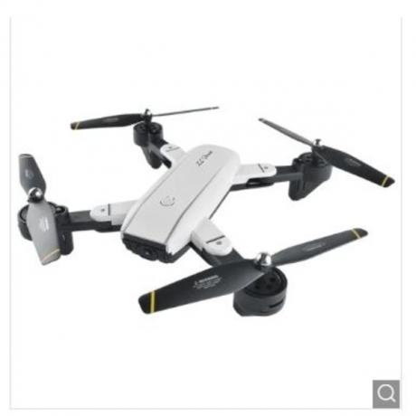 SG - 700 Satellite Navigation Foldable RC Drone Quadcopter - White 720P Camera