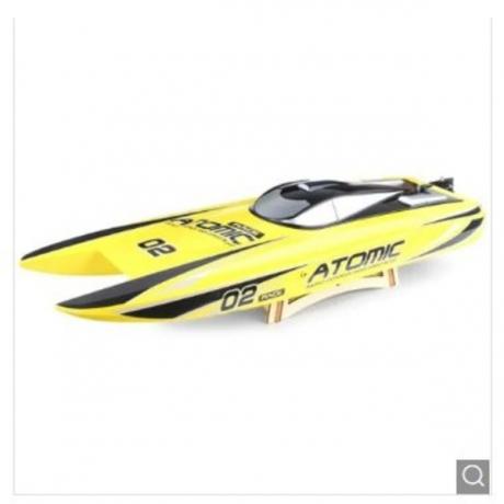 VOLANTEXRC 792 - 4 RC Boat Toy - Yellow