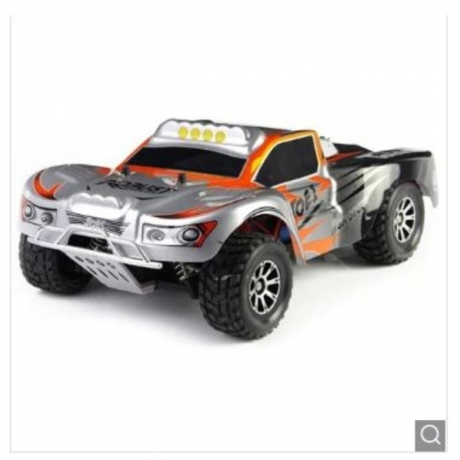 Wltoys A969 2.4G RC Truck - Silver