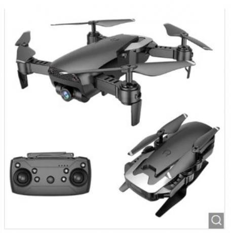 X12 WiFi FPV RC Drone - Black 0.3MP Camera