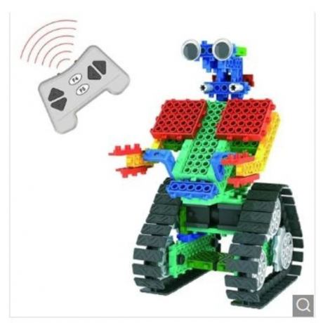 137pcs DIY Remote Control Robot Educational Building Block Toy - Multi