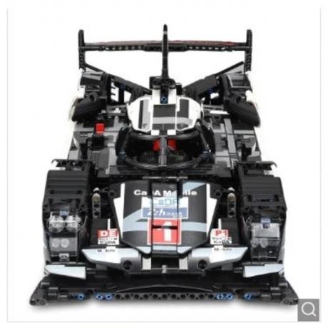 CaDA Assembling Racing Car Model Educational Toy - Black