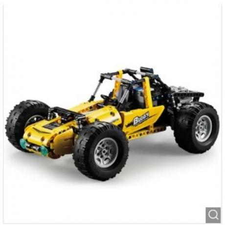 CaDA C51043W All-terrain Vehicle - Sun Yellow
