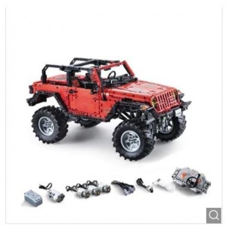 CADA C61006 Vehicle RC Block Toy 1941PCS - Red