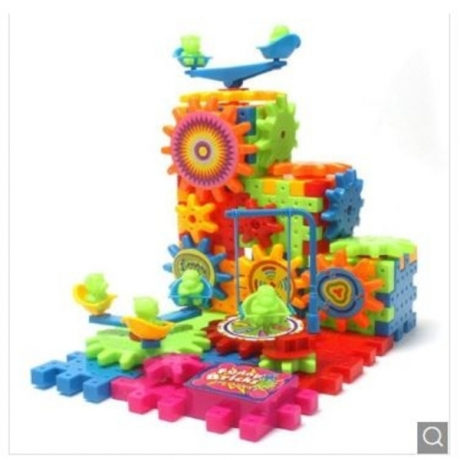 Children Variety Electric Building Blocks Toys 81pcs - Multi